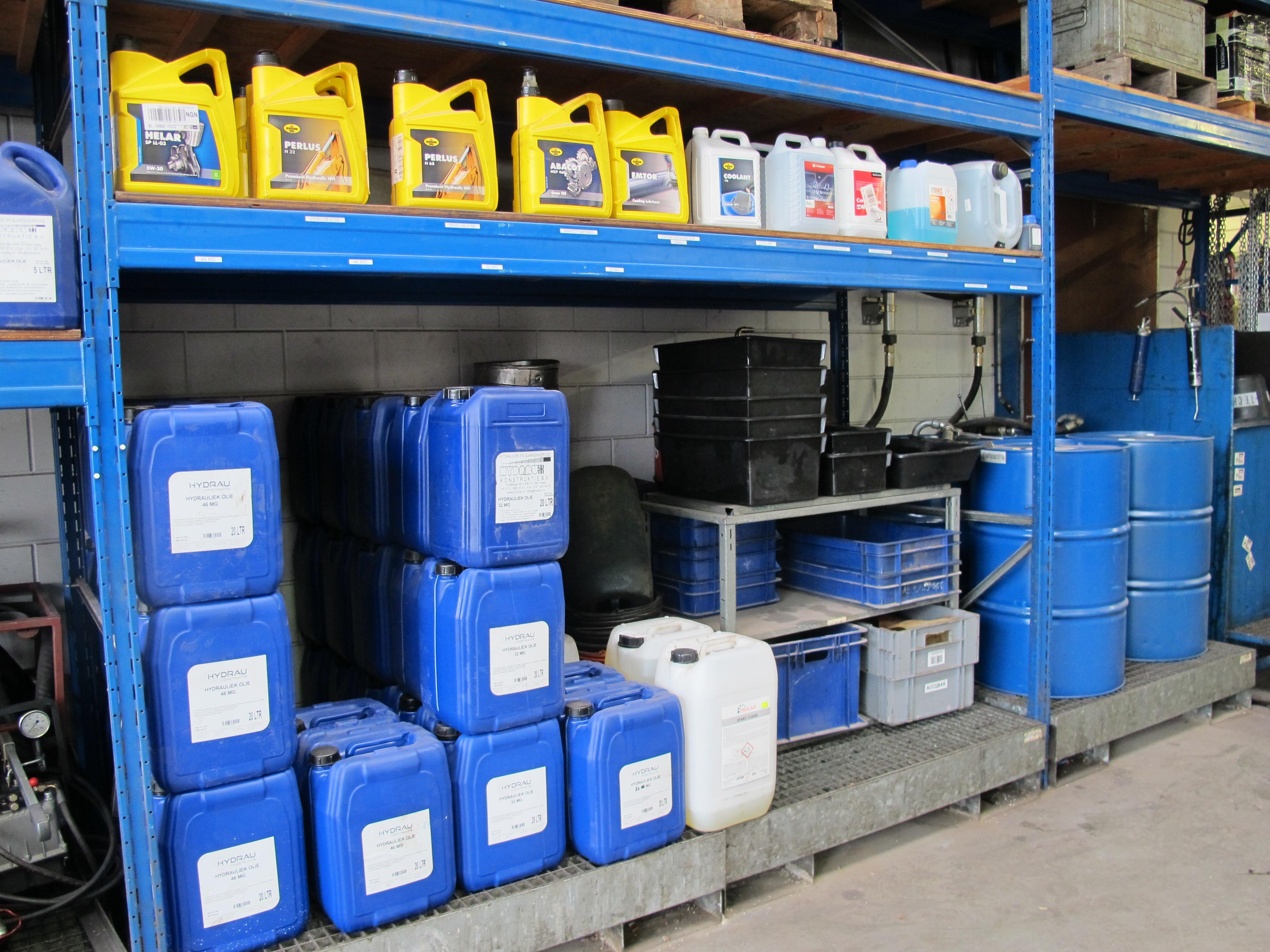 Klantspecifieke hydraulische olie
