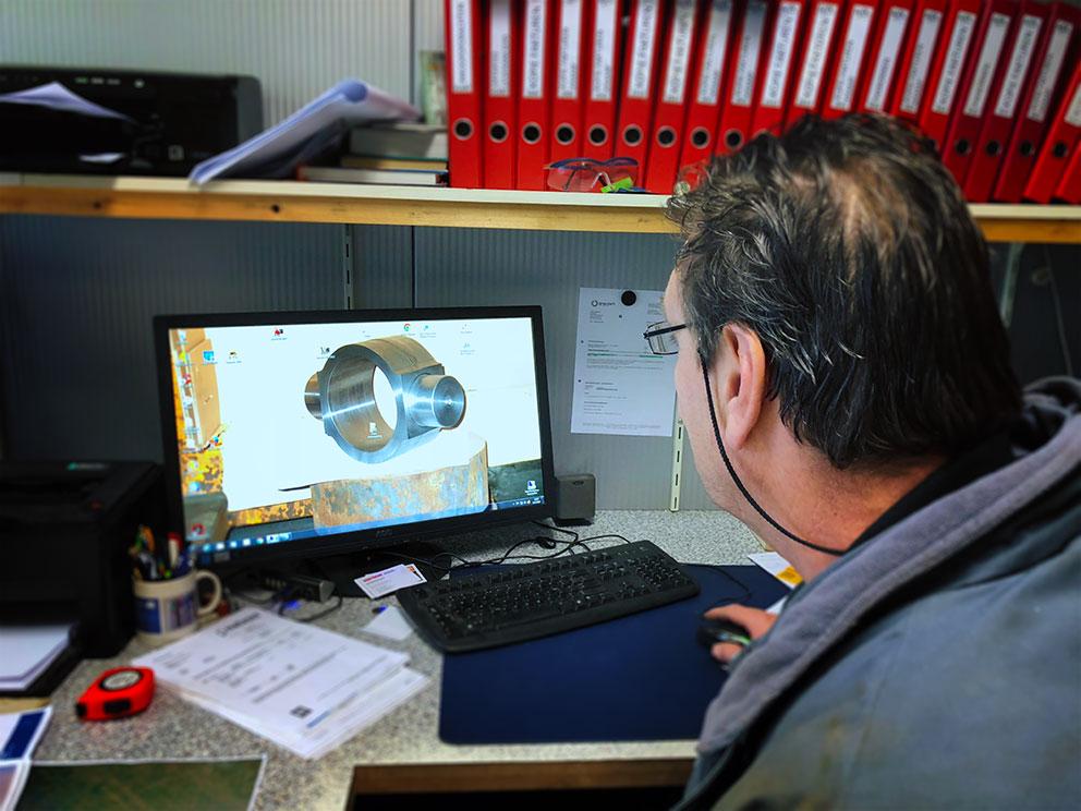 Hans Kiewiet: bedenker, constructeur, reparateur en eigenaar