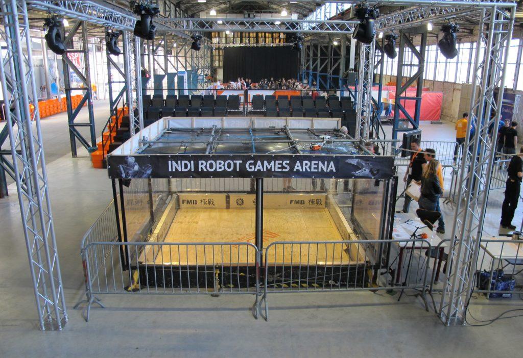 Robot Games Arena