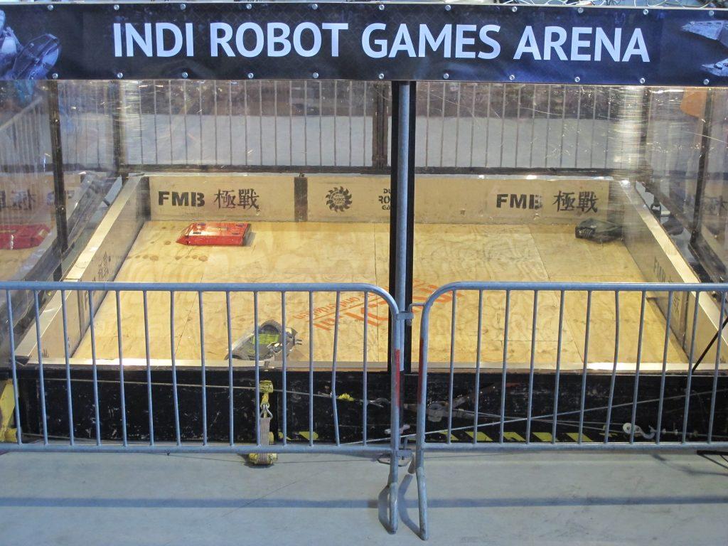 De INDI Robot Games zijn begonnen